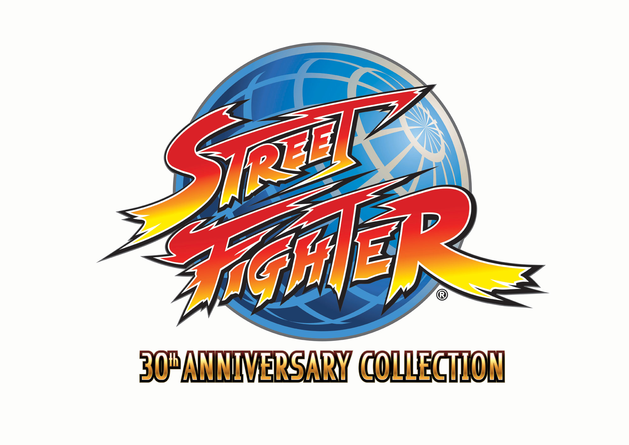 Resultado de imagem para street fighter 30th anniversary collection logo png